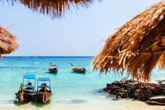 tropikalny idylliczny na plaży fotografia royalty free