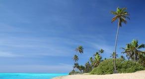 tropikalny idylliczny na plaży Fotografia Stock