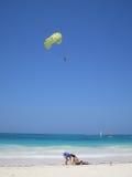 tropikalny karaibów na plaży Obrazy Royalty Free