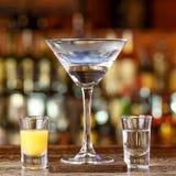 Tropikalny koktajl z rumem i sokiem pomarańczowym Obraz Stock