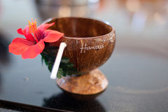Tropikalny koktajlu napój Fotografia Royalty Free