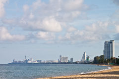 tropikalny kondominium plażowy luksus zdjęcie royalty free