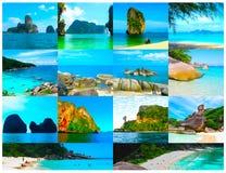 tropikalny krajobrazu Wyspa przy Andaman morzem, Tajlandia Fotografia Royalty Free