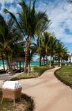 Tropikalny kurort w Mauritius Fotografia Stock