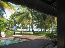 tropikalny kurort wakacyjne Fotografia Royalty Free