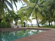 tropikalny kurort wakacyjne Obrazy Royalty Free
