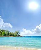Tropikalny las, denny wybrzeże i góry, Obraz Stock