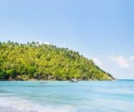 Tropikalny las, denny wybrzeże i góry, Fotografia Royalty Free