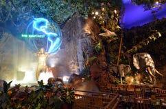 Tropikalny las deszczowy kawiarnia w San Fransisco, Kalifornia - Zdjęcia Royalty Free