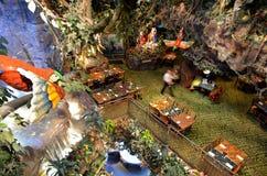 Tropikalny las deszczowy kawiarnia w San Fransisco, Kalifornia - Obraz Royalty Free