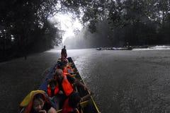 Tropikalny las deszczowy Rzeczny rejs Zdjęcia Royalty Free