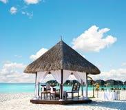 tropikalny lokacja ślub zdjęcie stock