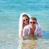 tropikalny ślub Obraz Royalty Free