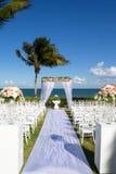 tropikalny ślub Zdjęcia Royalty Free