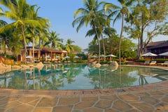 tropikalny luksusowy kurort Zdjęcie Stock