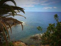 Tropikalny morze i krajobraz Zdjęcia Royalty Free