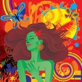 tropikalny motyw Fotografia Royalty Free