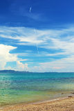 tropikalny na plaży Zdjęcie Stock