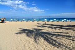 tropikalny na plaży Kuba - Hawańska plaża Fotografia Stock