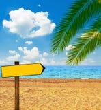 tropikalny na pla?y obraz royalty free