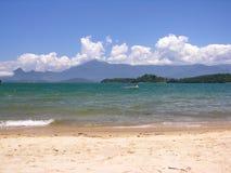 tropikalny na plaży fotografia royalty free