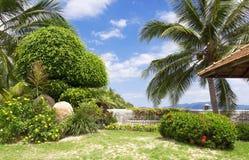 Tropikalny ogród zdjęcie stock