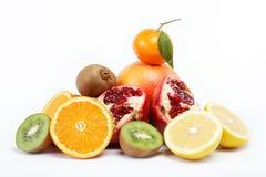 tropikalny owoc biel Zdjęcie Stock