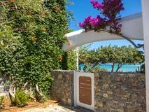 Tropikalny pływacki basen zdjęcia royalty free