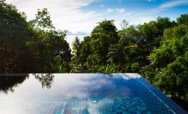 Tropikalny pływacki basen Fotografia Royalty Free