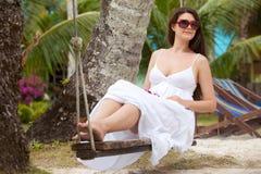 tropikalny park Fotografia Royalty Free