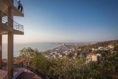 tropikalny park puerto vallarta Najlepszy plaża w Meksyk oceanu Pacific widok Zdjęcie Royalty Free
