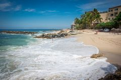 tropikalny park puerto vallarta Najlepszy plaża w Meksyk oceanu Pacific widok Zdjęcie Stock