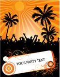 tropikalny partyjny lato Fotografia Stock