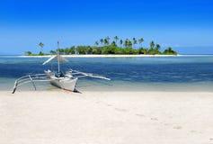 tropikalny plażowy raj Obrazy Royalty Free