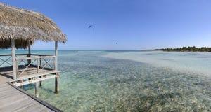tropikalny plażowy raj obraz stock
