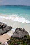 tropikalny plażowy turkus Obrazy Stock