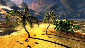 Tropikalny raj ilustracja wektor