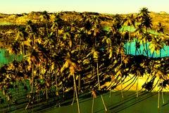 Tropikalny raj royalty ilustracja