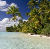 Tropikalny Raj - Kucbarskie Wyspy Obraz Stock
