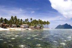 tropikalny rajskiej wyspy Obrazy Royalty Free