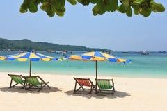 tropikalny raju lazurowy morze Zdjęcie Royalty Free
