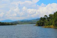 Tropikalny rezerwuar obrazy royalty free