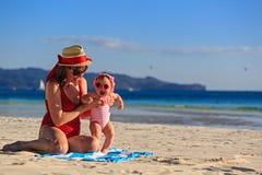 tropikalny rodzinne wakacje Obraz Royalty Free