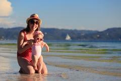 tropikalny rodzinne wakacje Obraz Stock