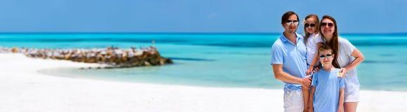 tropikalny rodzinne wakacje Obrazy Royalty Free