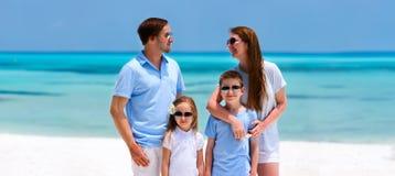 tropikalny rodzinne wakacje Zdjęcia Stock