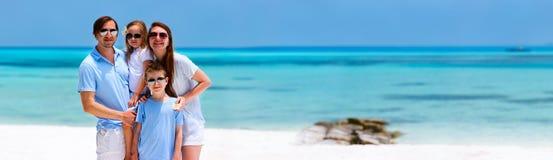 tropikalny rodzinne wakacje Zdjęcia Royalty Free