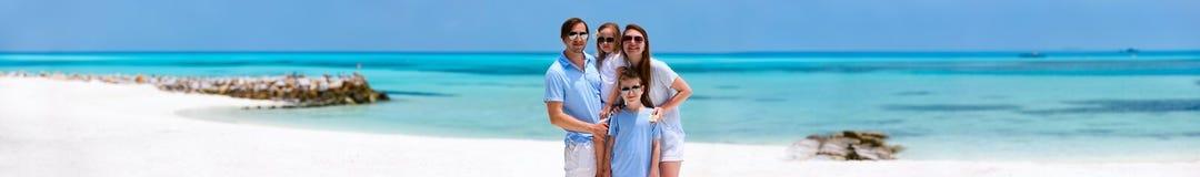 tropikalny rodzinne wakacje Fotografia Stock