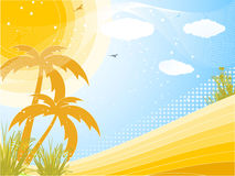 tropikalny tła lato Fotografia Stock