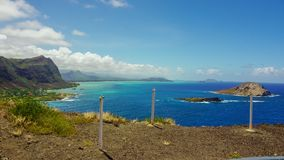 tropikalny widok Zdjęcie Royalty Free